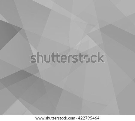 Abstract gray polygonal mosaic background, creative design template