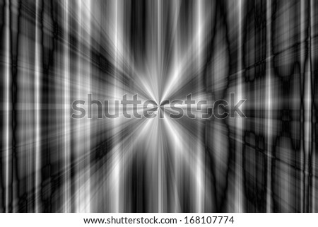 Abstract gray rays background - stock photo