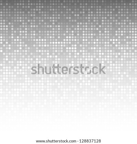 Abstract Gray Technology Background, raster illustration - stock photo