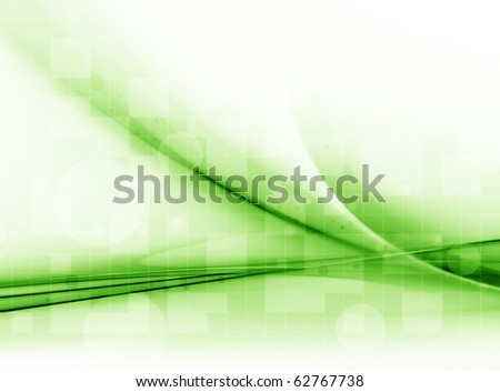 Abstract Green - stock photo