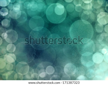 Abstract green and blu background