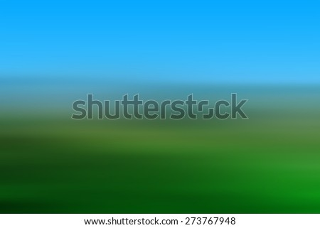 Abstract green and blue background - stock photo