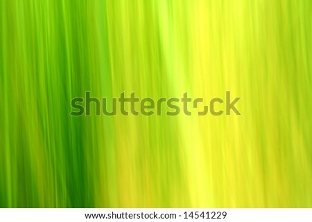 Abstract green and yellow ecology background