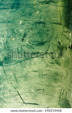 abstract, green and yellow grungy, old background - stock photo