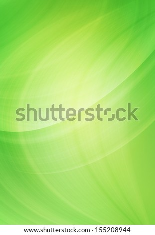 Abstract green background as wave design