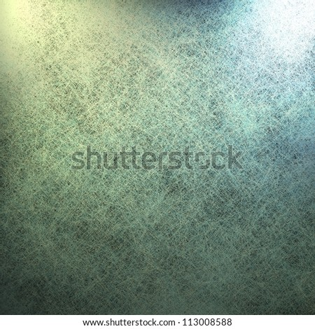 abstract green background canvas with vintage grunge background texture with gradient corner light and dark black background on edges for web template background or elegant brochure ad or report cover - stock photo
