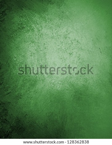 abstract green background dark color, vintage grunge background texture design, website template background, sponge distressed texture rough messy paint canvas, black green background paper brochure
