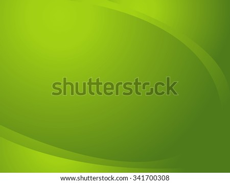 Abstract green background, designing in curved frame