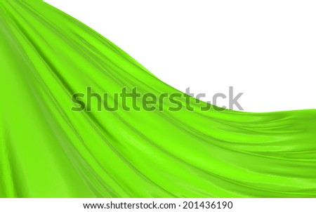 Abstract green background, image isolated