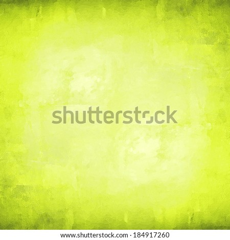 abstract green background lime color, vintage grunge background texture gradient design, website template background - stock photo