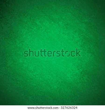 abstract green background with faint grunge black vignette border design - stock photo