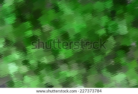 Abstract green blurry background with texture.