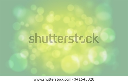 Abstract green bokeh background for Christmas / St Patrick Day holidays - stock photo