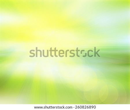 abstract green bokeh blur background - stock photo