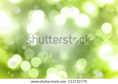 Abstract green color space background - stock photo
