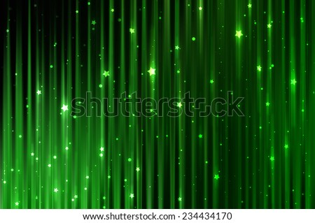 Abstract green elegant background with diamonds - stock photo