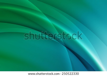 abstract green to  blue gradient technology background - stock photo
