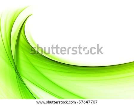Abstract green wallpaper - stock photo