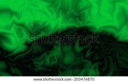 Abstract green wave background - stock photo