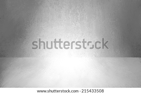 abstract grey background empty room interior, wall floor reflection illustration, 3d box product display showcase, blank stage or studio  - stock photo