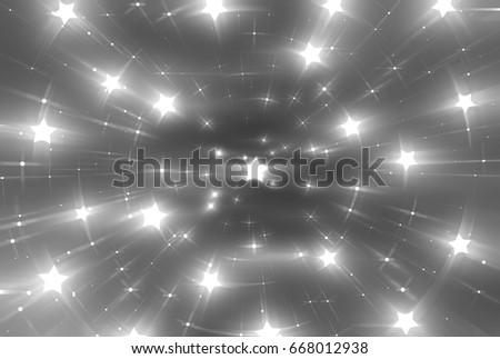 Abstract grey background. Explosion star. illustration digital.