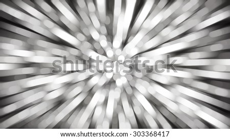 abstract grey background. fractal explosion star with gloss and lines