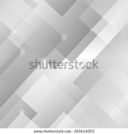 Abstract Grey Background. Grey Square Light Pattern.