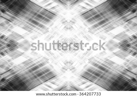 Abstract grey fractal background with various color lines and strips