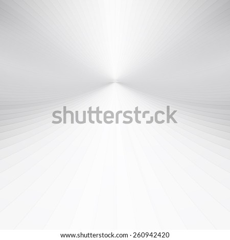 Abstract grey perspective background - stock photo