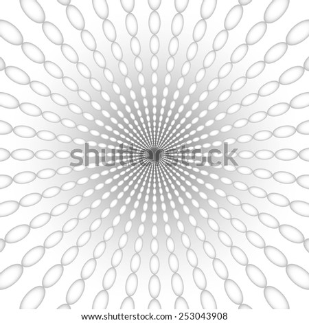abstract grey spiral pattern gray texture with ellipse abstract grey line on gray background raster - stock photo