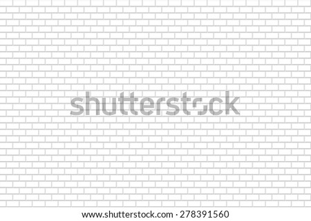 abstract grey white brick wall seamless pattern on white background. raster illustration