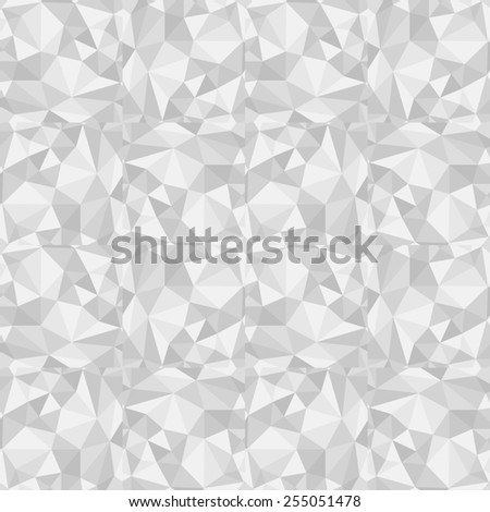 abstract grey white pattern gray texture with triangle abstract grey line on white background raster - stock photo