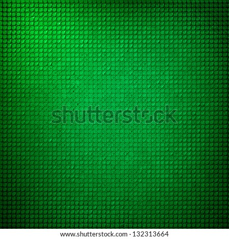abstract grid background texture pattern design, mesh grill background circle colored glossy shape metallic metal grill illustration, techno green background, modern stripe shiny geometric background - stock photo