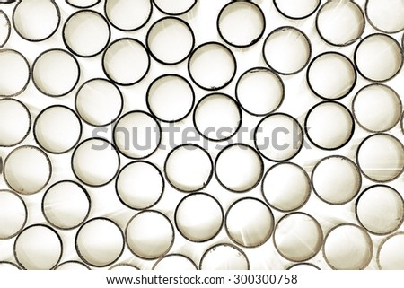 abstract group of circles for background used - stock photo