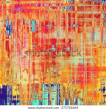 Abstract grunge background of old texture. With different color patterns: yellow (beige); blue; red (orange); pink - stock photo