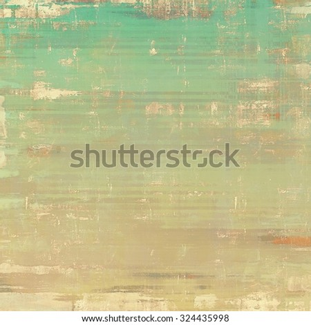 Abstract grunge background of old texture. With different color patterns: yellow (beige); brown; blue; green - stock photo