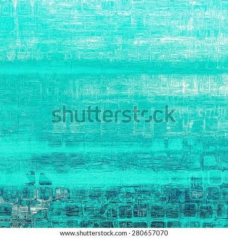 Abstract grunge background or old texture. With different color patterns: gray; blue; cyan - stock photo
