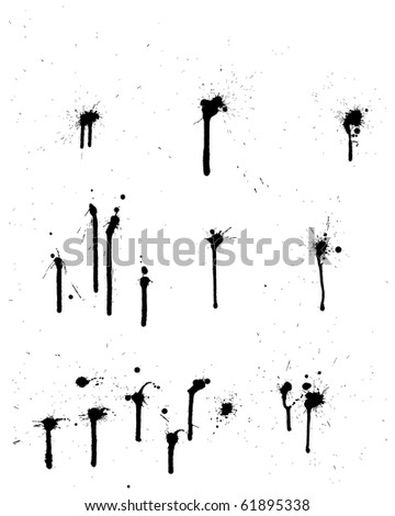Abstract grunge background set for design use.