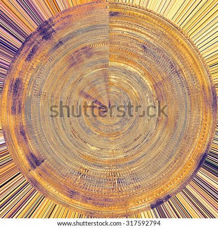 Abstract grunge background. With different color patterns: yellow (beige); brown; gray; purple (violet) - stock photo