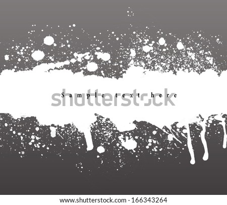 Abstract grunge banner. Abstract background.
