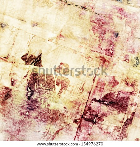 abstract grunge bright red and yellow color background - stock photo