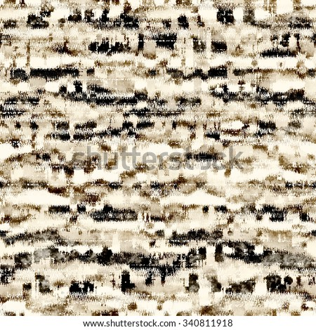 Abstract grunge distressed stroke. Seamless pattern. - stock photo