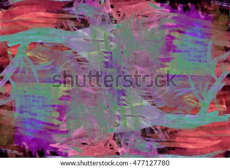 Abstract grunge multi-colored bright background