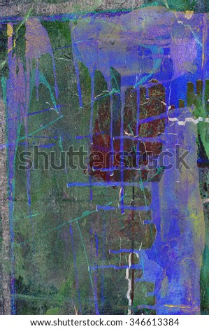abstract grunge painted wall background