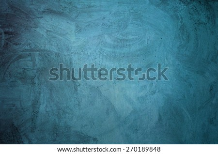 abstract grunge wall background blue