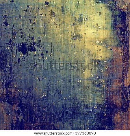 Abstract grunge weathered background of vintage texture. With different color patterns: yellow (beige); brown; blue; purple (violet)