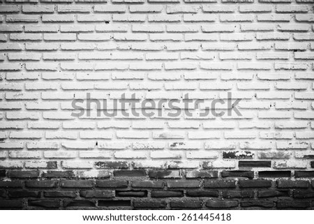 Abstract grunge weathered brick texture - stock photo