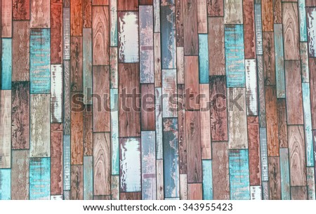 Abstract grunge wood texture use for background processed in red tone