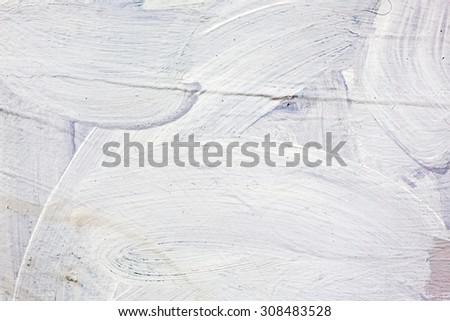 abstract grungy painted canvas texture closeup background - stock photo