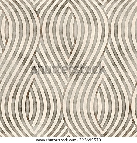 Abstract grungy textured  striped petal. Seamless pattern. - stock photo